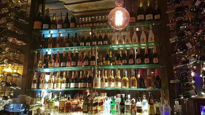 Charleston Bubble Lounge: o oceano à mesa