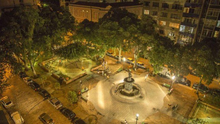 Praça São Salvador: nunca vi rastro de cobra, nem couro de lobisomem!