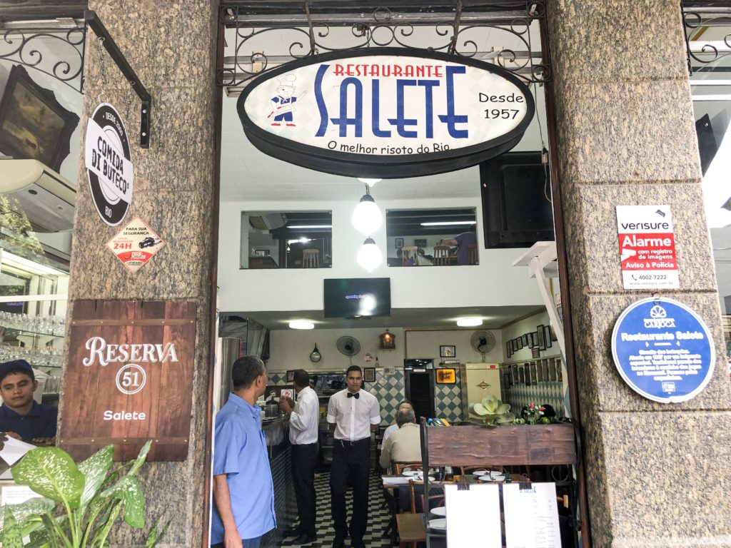 Fachada do Restaurante Salete