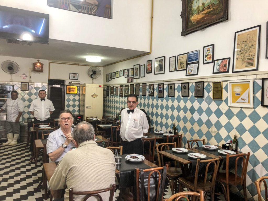 Interior do Restaurante Salete
