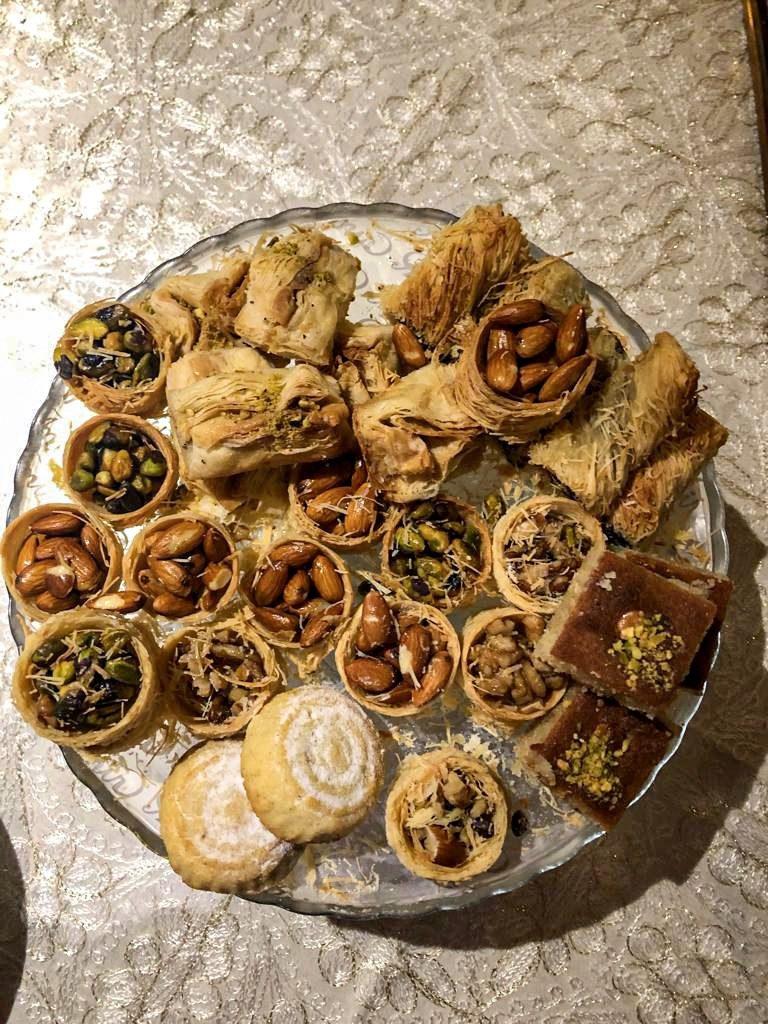 comida árabe para a sobremesa