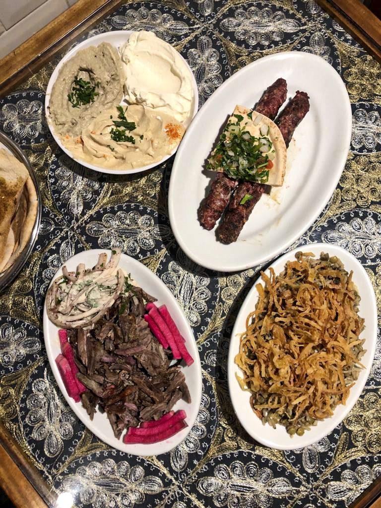 comida árabe: prato principal