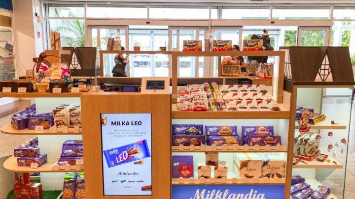 Milklandia abre primeiro quiosque no Rio de Janeiro