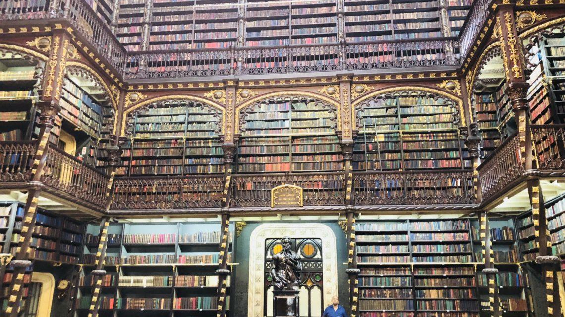 Real Gabinete de Leitura: a 'Hogwarts' carioca