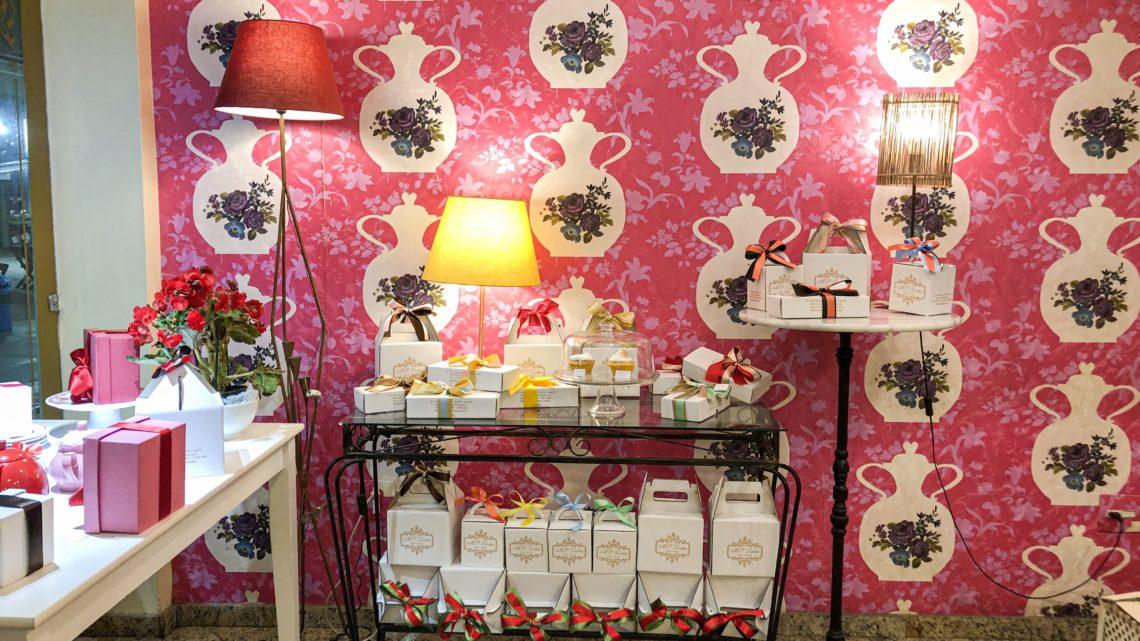 MP Tortas: casa de boneca que serve chá